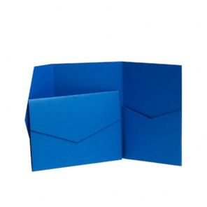 Dinky Debut Royal Blue Pearlescent Pocketfold Kit